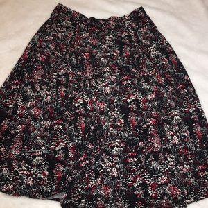 NWOT Lularoe Madison Pleated Skirt Size XS